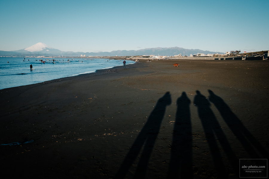 【X100F】お正月休み最終日は鵠沼海岸で早朝フォトウォーク!