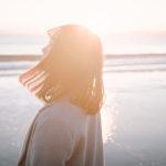 【FUJIFILM X100F】夕暮れの江ノ島で美女ポートレート