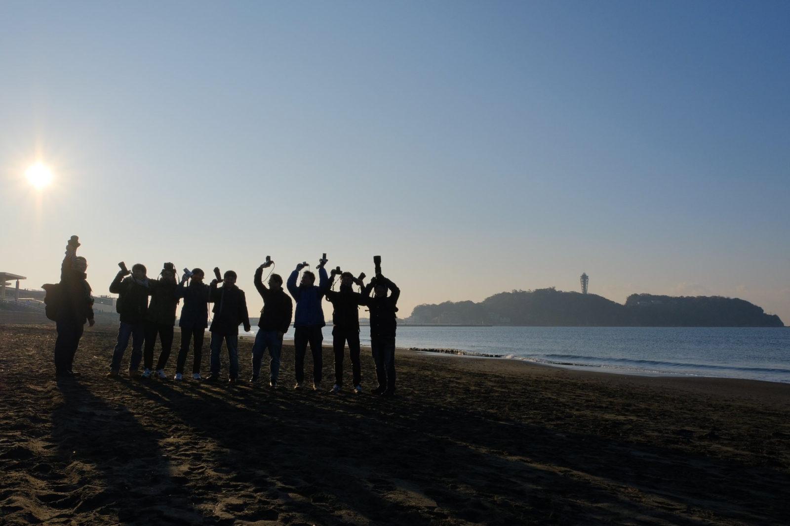 湘南早朝フォトウォークを開催。朝から晩まで海尽くし!