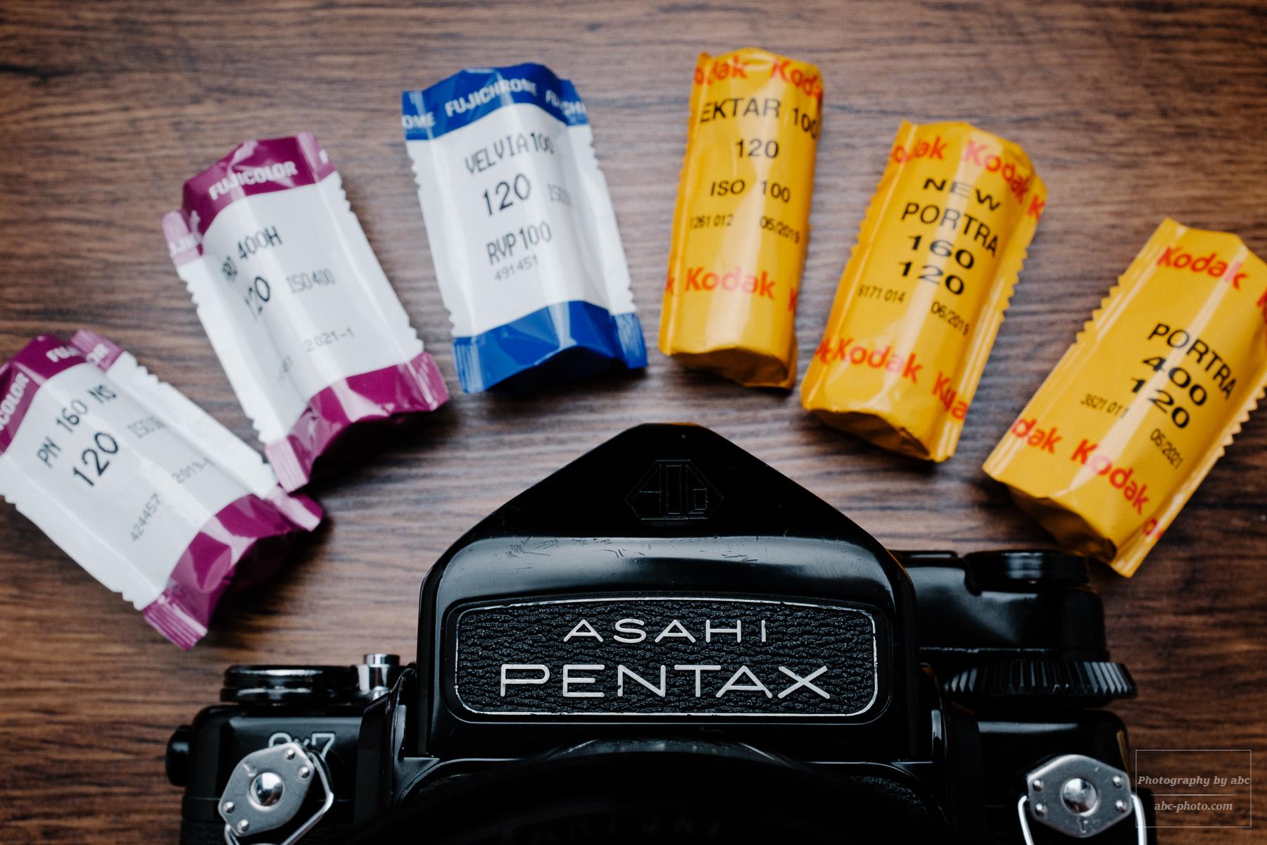 【バケペン】令和だからこそ中判フィルム!PENTAX 67購入1年目のフィルム別作例